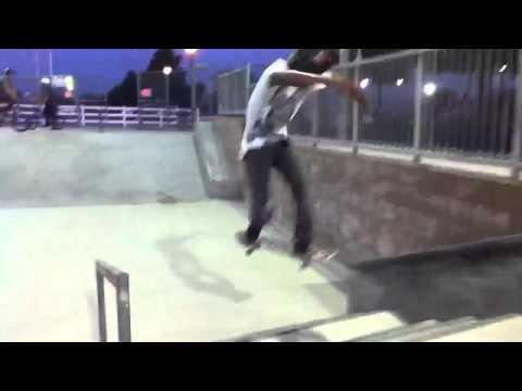 March air base skatepark sesh
