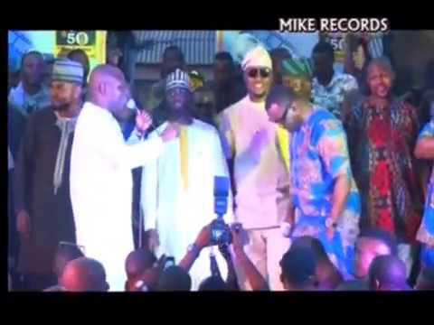 SEFIU ALAO AND PASUMA PERFORMED ON STAGE .PLS. SUBSCRIBE MIKE RECORD TV