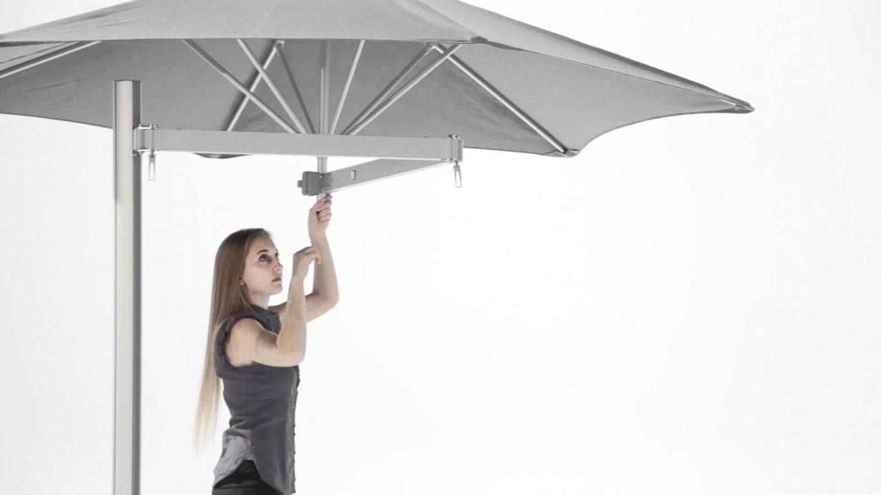 Vidéo présentation parasol Paraflex