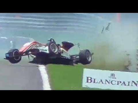 BIG CRASH! Formula 3 European Championship at 24H of Spa-Francorchamps 2017