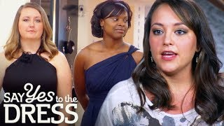 Bride Demands Her 8 Bridesmaids Wear Different Dresses | Say Yes To The Dress: Bridesmaids