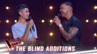 The Blind Auditions: Guy And Budjerah Sing 'Climb Every Mountain' | The Voice Australia 2019
