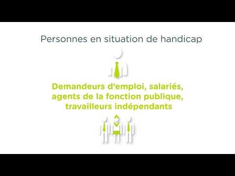 Video Motion design de présentation des Cap emploi