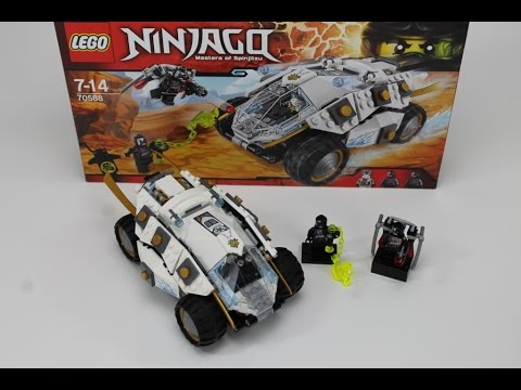 LEGO Ninjago Set 70588 Titan-Ninjamobil Review deutsch german