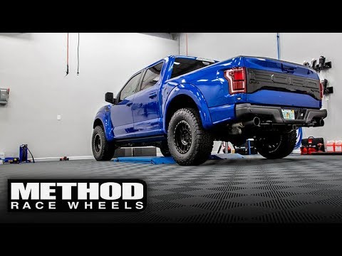 Installing Method Wheels on Gen 2 Ford Raptor