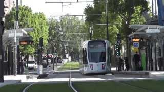preview picture of video 'Tramway T3b de Paris - Porte de Pantin'