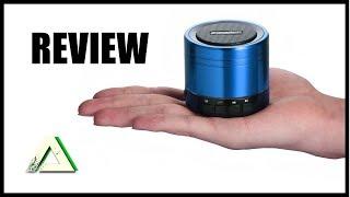 EasyAcc Mini Portable Bluetooth Lautsprecher [Review] - Kleiner guter und günstiger Lautsprecher