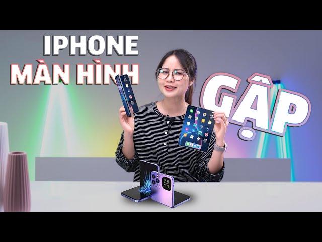 Apple sẽ ra mắt iPhone màn hình gập???