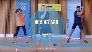 NEW Body Project Boxing Abs cardio workout from home by Body Project
