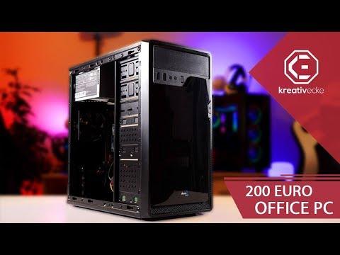 Für 200 EURO habe ich einen NEUEN PC ZUSAMMENGESTELLT! Das kann er...