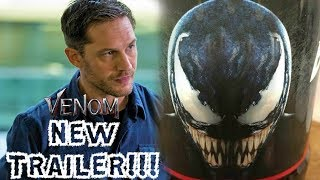 NEW VENOM TRAILER AT CINEMACON CONFIRMED BY TOM HARDY!!!