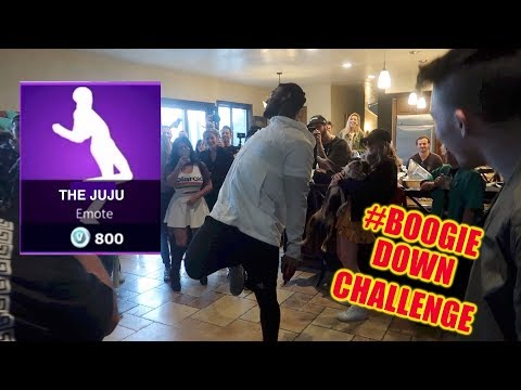 JUJU SMITH SCHUSTER DOES FORTNITE DANCES *CRAZY PARTY*