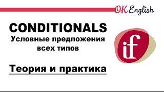 Условные предложения в английском: все типы условных предложений (conditionals)