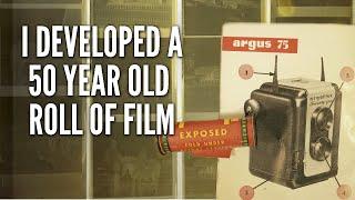 Developing Old Black and White Film (50 Year Old Kodak Verichrome Pan)