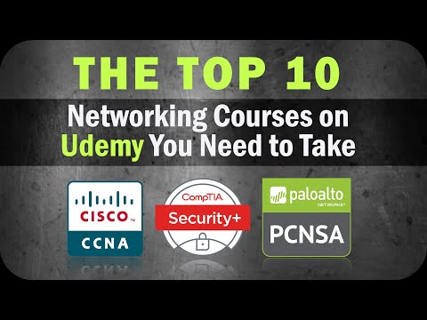 Top 10 Networking Certification Courses to Take on Udemy ...