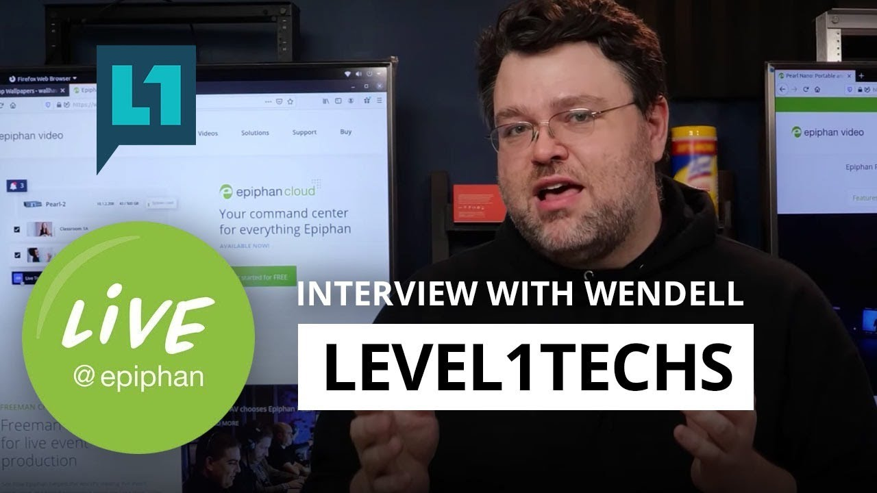 Interview with Wendell of Level1Techs thumbnail