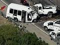 12 dead in Texas after truck hits church van head-on