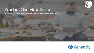 Kenandy Cloud ERP video