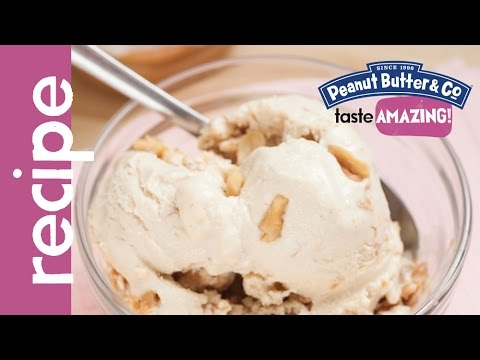 Video Double Peanut Butter Ice Cream Recipe