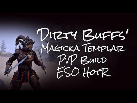 Video/Build] 'Dirty Buffs' | Crescent's Magicka Templar PVP