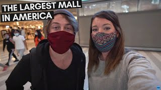 VISITING THE BIGGEST MALL IN THE UNITED STATES | MALL OF AMERICA MINNESOTA COVID 19 TRAVEL VLOG
