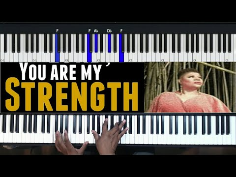 You are my strength piano tutorial