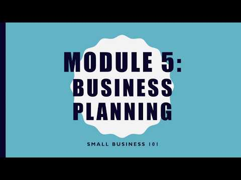 Starting Your Business 101: Business Planning