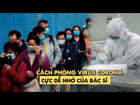 Bác sĩ chỉ cách phòng virus Corona với 5 chữ cái rất dễ nhớ