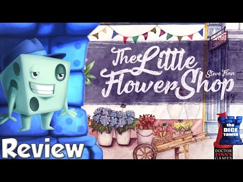 The Little Flower Shop Review - with Tom Vasel
