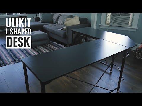 ULIKIT L-Shaped desk Build. Best budget desk I've ever used.