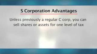 Business Planning - Advantages and Disadvantages of LLC's and S corps