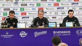 27. Spieltag | AUE - SGD | Pressekonferenz nach dem Spiel