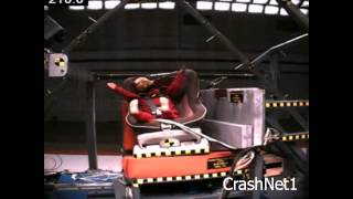 Child Seat Crash Test | Combi Zeus Turn Car Seat | Forward Facing, Side Impact Test | 12 Mo