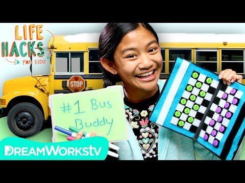 Bored On a Bus Hacks | LIFE HACKS FOR KIDS