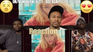 [MV] HYOLYN(효린)   SEE SEA(바다보러갈래) (VFTC) Reaction !!😵😍😍