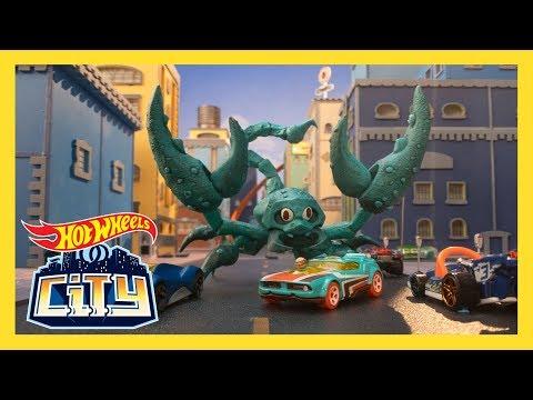 SCORPION STRIKE!   Hot Wheels City: Season 2   Episode 1