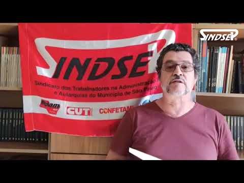 Vlamir Lima fala da Remoção dos Servidores da Saúde conquistada pelo Sindsep