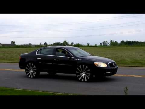 2008 Buick Lucerne on 26s Starr Rims 2015