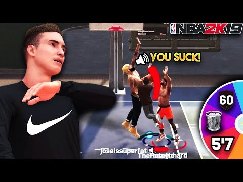 WHEEL OF WORST ARCHETYPES IN NBA 2K19!! (GONE WRONG) Bringing The WORST Possible Build to MyPark...