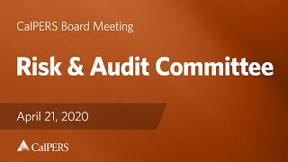 Risk & Audit Committee on April 21, 2020
