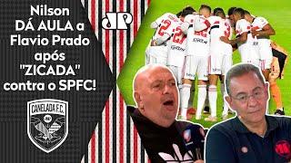 Nilson Cesar rebate Flavio Prado após derrota do São Paulo: 'Está diferente'