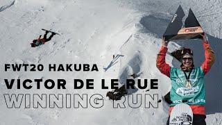 Victor De Le Rue Snowboard Men Winning Run