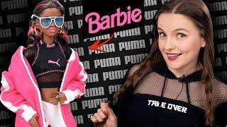 Что скрывают очки?😱 Barbie в настоящих кедах Puma Suede: обзор и распаковка