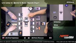 2015 Magic World Championship Round 8 (Draft): Seth Manfield vs. Martin Muller