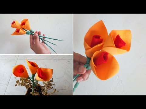 Download Paper Lily How To Make Easy Paper Flowers Oriental Lily Fr