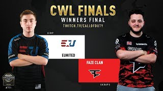 eUnited vs FaZe Clan | CWL Finals 2019 | Day 3