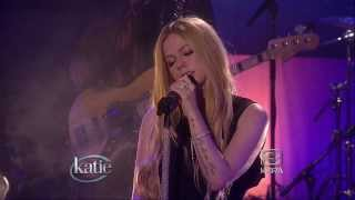 Avril Lavigne - Let Me Go + Interview @ Live at Katie Couric 11/08/2013