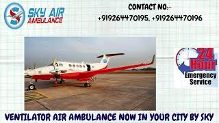 Reliable Air Ambulance Service in Goa with the Best Care