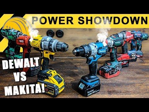 ENDE für MAKITA & DeWALT?! Akkuschrauber TEST EXTREM | Power Showdown TEIL 2