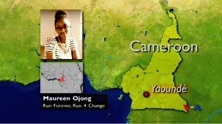 Interview with Maureen Ojong, Founder of Run Forever, Run 4 Change on Voice of America